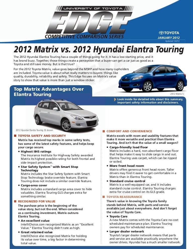 Hyundai elantra touring service manual browse manual guides used 2012 matrix vs used 2012 hyundai elantra touring north hollywoo rh slideshare net 2011 hyundai elantra touring owners manual 2010 hyundai elantra fandeluxe Gallery