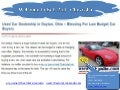 Used car dealership in dayton, ohio – blessing for low budget car buyers