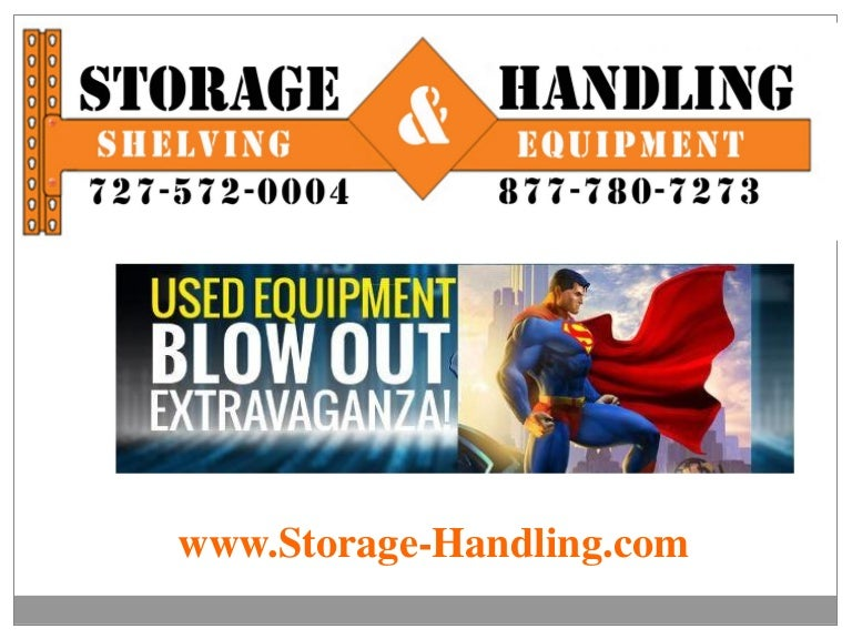 d6b318fa035 Used Equipment Sale at Storage   Handling Equipment in Clearwater