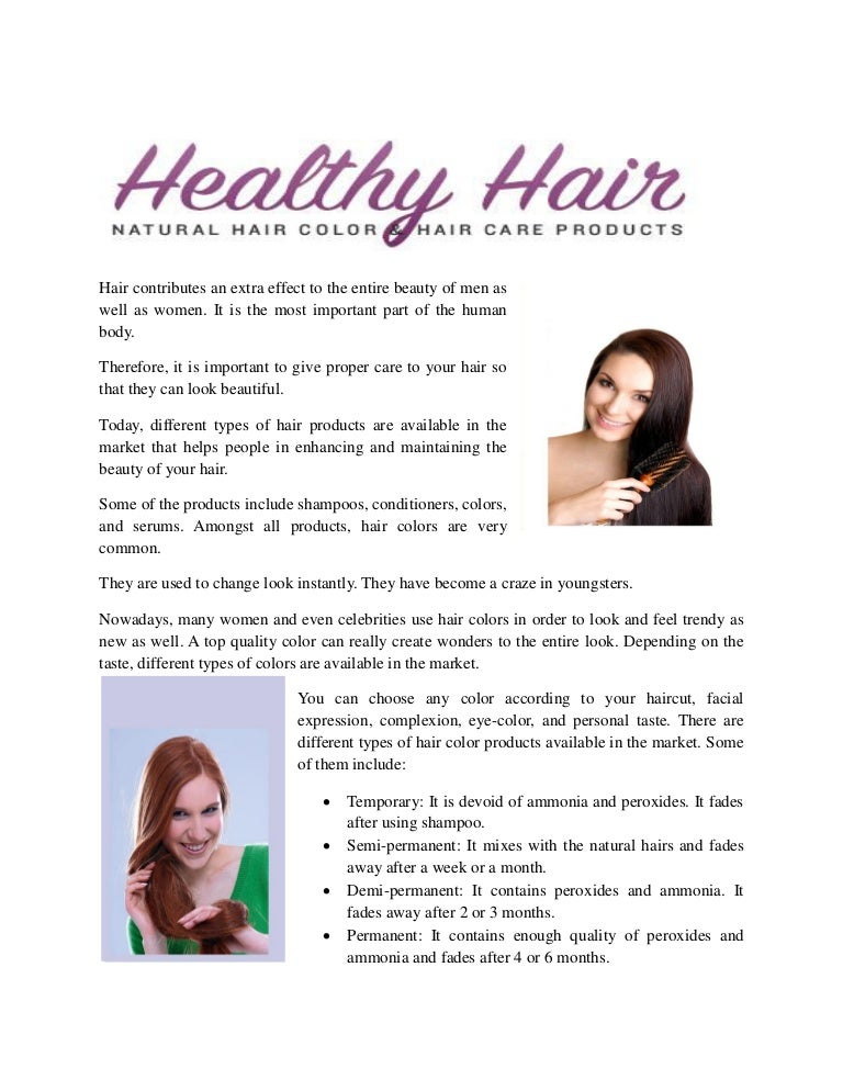 Use Natural Hair Colour To Get The Best Results