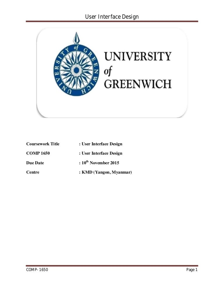 Hci coursework what kind of resume paper to use