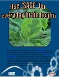 Use sage for everyday brain health