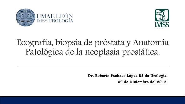 ultrasonido transrectal, próstata, diámetros medios