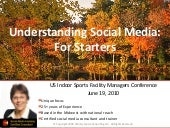 US Indoor Sports Association: Social media for beginners