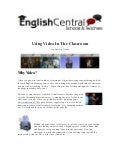 Using video-in-the-classroom