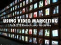 Using video marketing to promote your content