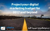 Using competitive analysis to project your marketing budget