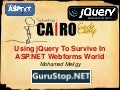 Using jQuery To Survive In ASP.NET Webforms World