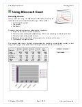 Using Microsoft Excel4 Charts