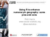 Using R to enhance numeracy in geography: some pros and cons
