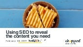 Using SEO to Reveal the Content You Need - OxfordHUG February 2019