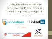 Using slideshare and linkedin for class writing exercises