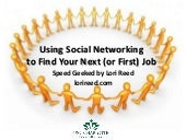 Using Social Networking to Find Your Next Job