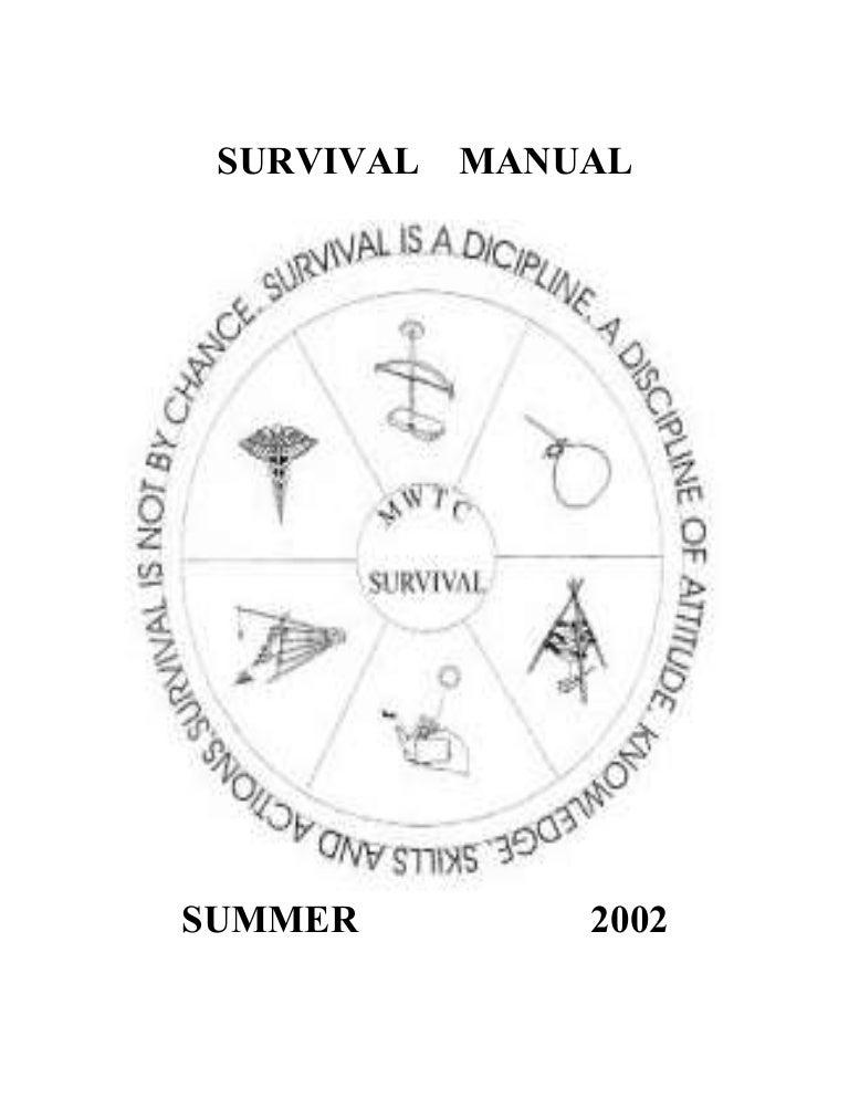 Us Marine Corps Mwtc Summer Survival Course Handbook Msvx