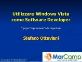 Utilizzare Windows Vista come Software Developer