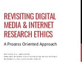 Revisiting Digital Media and Internet Research Ethics. A Process Oriented Approach