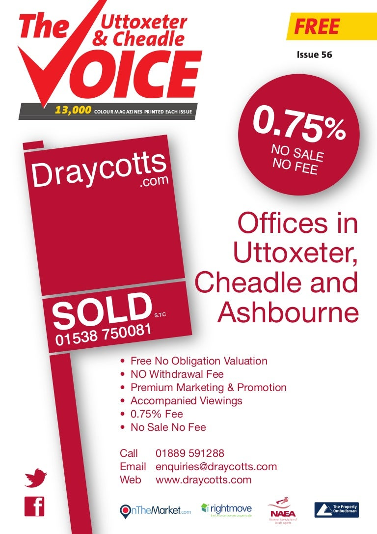Uttoxeter & Cheadle Voice Issue 56