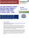 UV Light Stabilizer Market - North America Industry Analysis, Size, Share, Growth, Trends And Forecast, 2012 - 2018
