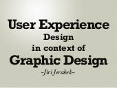 User Experience Design in context of Graphic Design