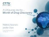 A UX Journey into the World of Early Drug Discovery