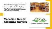 Vacation Rental Cleaning Service