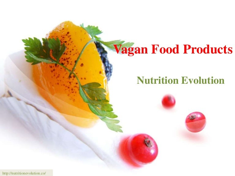 Vagan food products
