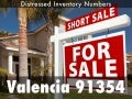 Valencia CA distressed pre foreclosures auctions and bank owned in zip 91354 updated