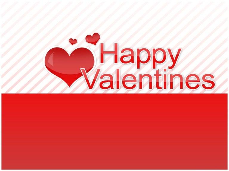Free valentines day powerpoint template 11 toneelgroepblik Choice Image