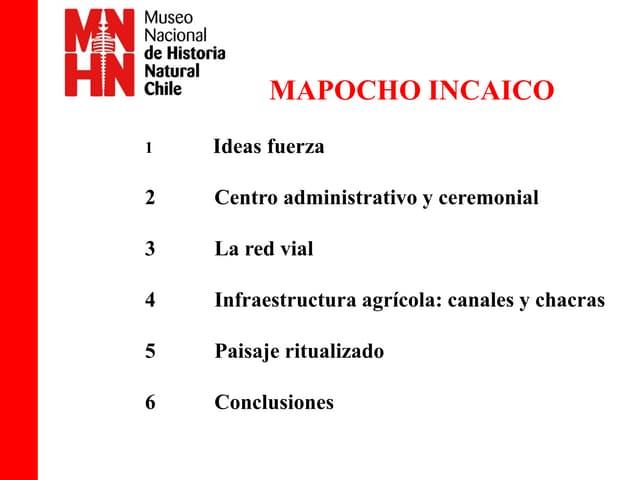 Mapocho Incaico