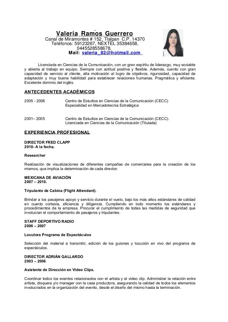 Fantástico Muestra De Currículum Para Su Posición De Gerente ...