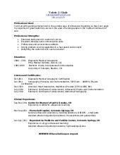 cardiovascular tech resume - Ultrasound Resume