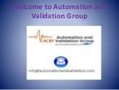 Validation Services - Process and FDA Software Validation
