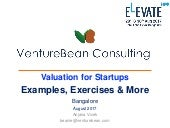 Valuation for startups