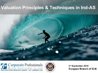 Valuation Principles & Techniques in Ind AS
