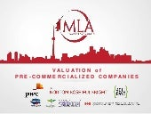 Valuation of Pre-Commercialized Companies