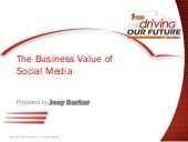 The Business Value of Social Media