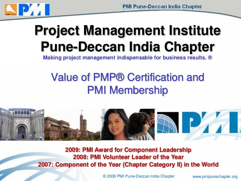 Value Of Pmp Certification And Pmi Membership