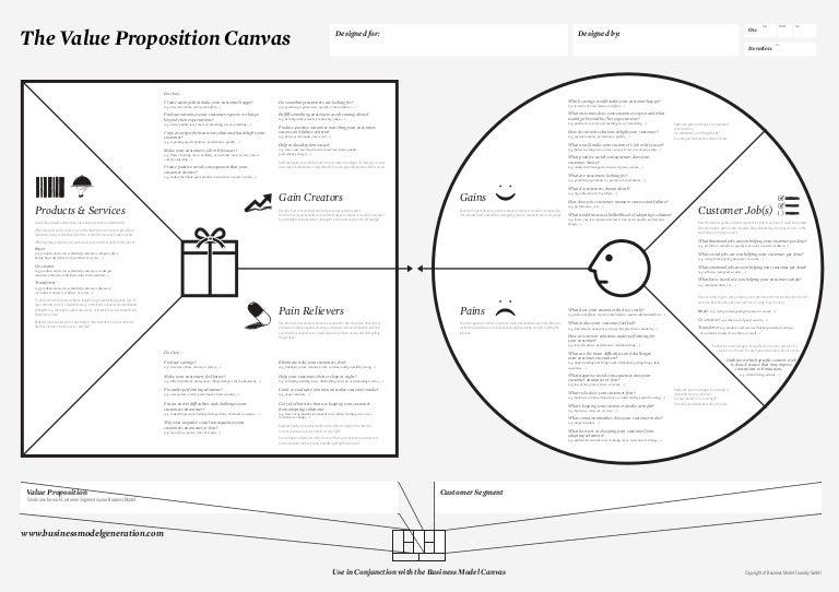 Free Value Proposition Templates  Smartsheet