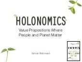 Value Propositions Where People and Planet Matter