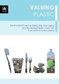 Valuing Plastic: The Business Case for Measuring, Managing, and Disclosing Plastic Use in the Consumer Goods Industry