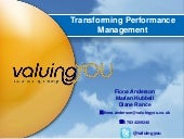 Transforming Performance Management