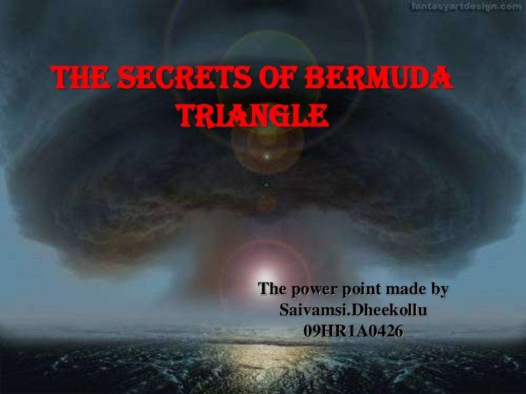 bermuda triangle origin