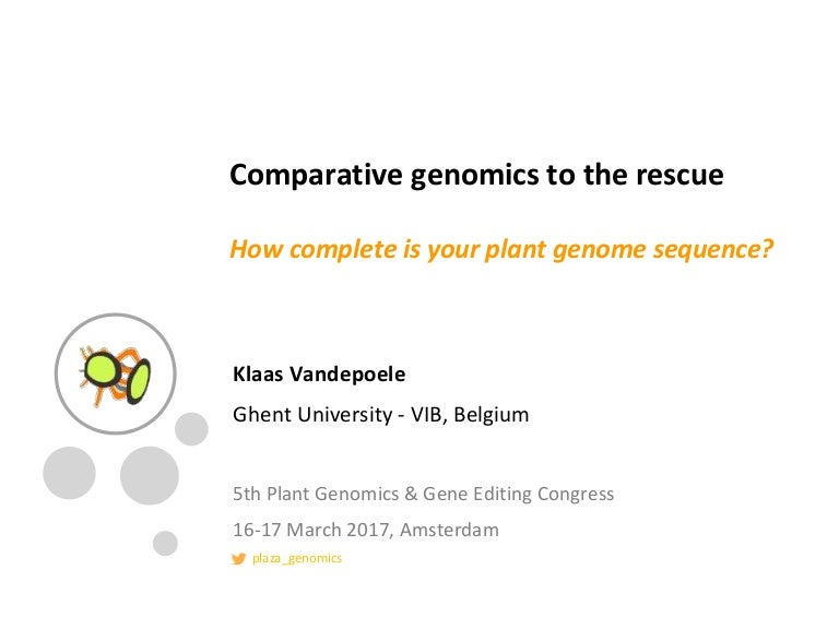 comparative genomics to the rescue  how complete is your