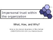 Impersonal trust in organisations