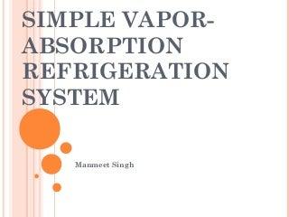 Vapor absorption system goto desijugaad.net for downloading