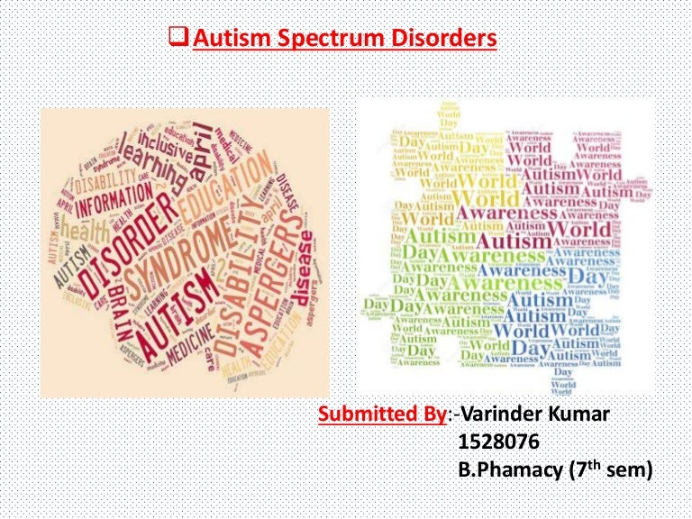 Environmental Risk For Autism Explained >> Autism Spectrum Disorder A General Introduction