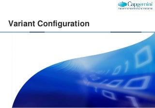 SAP SD Variant configuration-training-document 2