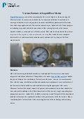 Various Features of Liquid Flow Meters