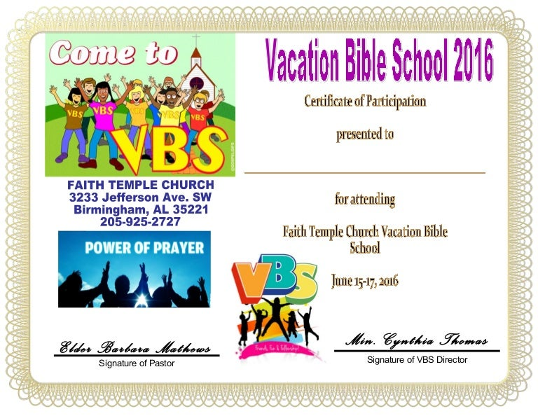 Irresistible image within vbs certificate printable