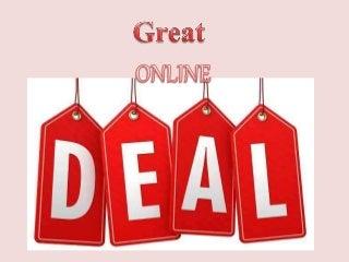 Great online deals - Voucher codes India